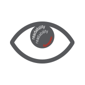 Eye icon with READABILITY written in the eye